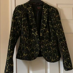 Blazer - Black and Yellow; Dress it up or down
